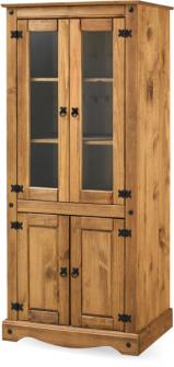 Ref. 206 – Estante 2 portas e 2 portas de vidro