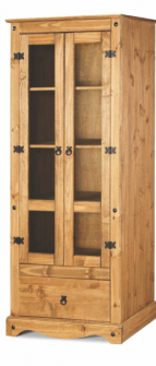 Ref. 235 – Cristaleira 2 portas e 1 gaveta