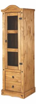 Ref. 236 – Cristaleira 1 porta e 2 gavetas