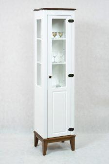 Ref. 4239 – Cristaleira 1 Porta  – Branco