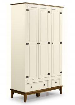 Ref. 4603 -Armário 3 Portas  – Off White