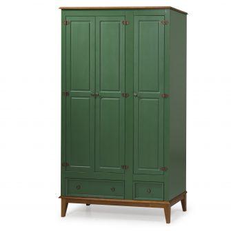 Ref. 4603 -Armário 3 Portas  – Verde