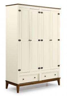Ref. 4604 -Armário 4 Portas  – Off White