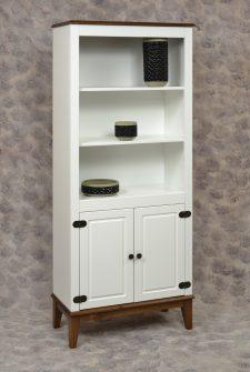 Ref. 4205 – Estante 2  Portas  – Branco